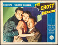 "Movie Posters:Comedy, The Ghost Breakers (Paramount, 1940). Fine/Very Fine. Lobby Card(11"" X 14""). Comedy.. ..."