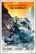 """Movie Posters:Action, The Gauntlet (Warner Brothers, 1977). One Sheet (27"""" X 41"""") Frank Frazetta Artwork. Action.. ..."""