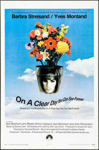"On a Clear Day You Can See Forever & Others Lot (Paramount, 1970). One Sheets (3) (27"" X 41"" &..."