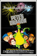 "Movie Posters:Animation, Pete's Dragon (Buena Vista, 1977). One Sheet (27"" X 41""), TitleCard & Lobby Cards (5) (11"" X 14""), & Uncut Pressbook (30Pa... (Total: 8 Items)"