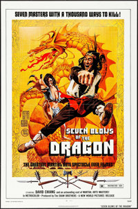 "Seven Blows of the Dragon & Others Lot (New World, 1973). One Sheets (3) (27"" X 41""). Action. ... (Total:..."