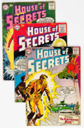 Silver Age (1956-1969):Horror, House of Secrets Group of 9 (DC, 1958-61) Condition: Average GD....(Total: 9 )