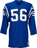 Football Collectibles:Uniforms, 1970-71 Ray May Game Worn Baltimore Colts Jersey....