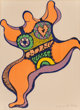 Niki de Saint-Phalle (1930-2002) Nana, 1971 Lithograph in colors on Arches paper 25-7/8 x 18-7/8 inches (65.7 x 47.9