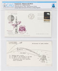 Explorers:Space Exploration, Apollo 11 Launch Cover Cancelled at Cape Canaveral, Directly From The Armstrong Family Collection™, Certified and Encapsul...