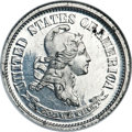 Patterns, 1869 10C Standard Silver Ten Cents, Judd-700, Pollock-779, Low R.7, PR64 NGC....