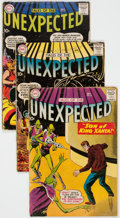 Silver Age (1956-1969):Horror, Tales of the Unexpected Group of 10 (DC, 1959-63) Condition: Average GD.... (Total: 10 Comic Books)