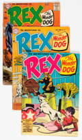 Silver Age (1956-1969):Adventure, Adventures of Rex the Wonder Dog Group of 4 (DC, 1954-58) Condition: Average VG.... (Total: 4 Comic Books)