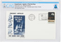 Explorers:Space Exploration, Apollo 11 Launch Cover Directly From The Armstrong Family Collection™, Certified and Encapsulated by Collectibles Authenticati...