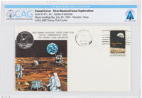 Apollo 11 Lunar Landing Cover Cancelled at Houston, Texas, Directly From The Armstrong Family Collection™, Certifi
