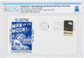 Explorers:Space Exploration, Apollo 11 Lunar Landing Cover Cancelled at Wapakoneta, Ohio, Directly From The Armstrong Family Collection™, Certified and...