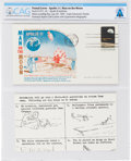 Explorers:Space Exploration, Apollo 11 Lunar Landing Cover Cancelled at Cape Canaveral, Directly From The Armstrong Family Collection™, Certified and E...