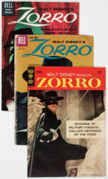 Silver Age (1956-1969):Western, Zorro Group of 17 (Dell/Gold Key, 1960-68) Condition: AverageGD/VG.... (Total: 17 Comic Books)