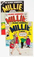 Silver Age (1956-1969):Romance, Millie the Model Group of 10 (Atlas/Marvel, 1954-59) Condition:Average VG/FN.... (Total: 10 Comic Books)
