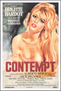 "Movie Posters:Foreign, Le Mepris (Canal, R-2000). One Sheet (27"" X 40"") Gilbert Allard Artwork, Alternate Title: Contempt. Foreign.. ..."