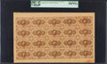 Fractional Currency:First Issue, Fr. 1230 5¢ First Issue Uncut Sheet of Twenty PCGS Choice About New58PPQ.. ...
