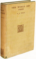 Books:Science Fiction & Fantasy, H. G. Wells. The World Set Free. London: 1914. First edition....