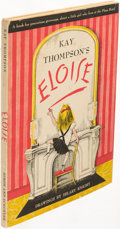 Books:Children's Books, Kay Thompson. Eloise. New York: 1955. First edition.Illustrations by Hilary Knight....