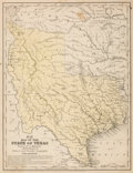 Books:Maps & Atlases, Samuel A. Mitchell. Map of the State of Texas. [Philadelphia]: 1846. Printed for Mitchell's School and Family Geogra...