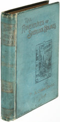 Books:Mystery & Detective Fiction, A[rthur]. Conan Doyle. The Adventures [and Memoirs] of SherlockHolmes. London: 1892[-1894]. Fi...