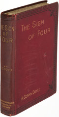 Books:Mystery & Detective Fiction, A[rthur]. Conan Doyle. The Sign of the Four. London: 1892.First edition, third issue, with a cancelled title-leaf....