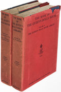 Books:Mystery & Detective Fiction, [Arthur Conan Doyle, contributor]. The Book of the Queen's Dolls' House [and Dolls' House Library]. ... (Total: 2 Items)