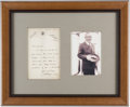Books:Mystery & Detective Fiction, Arthur Conan Doyle. Autograph Letter, Signed. Hindhead, England: 13May 1907. Original letter on Doyle's Undershaw stationer...