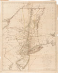 Books:Maps & Atlases, Claude Joseph Sauthier. A Map of the Province of New-York. Reduc'd from the large Drawing of that Province, compil...