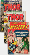 Silver Age (1956-1969):Superhero, Journey Into Mystery/Thor Group of 16 (Marvel, 1964-68) Condition:Average VG.... (Total: 16 Comic Books)