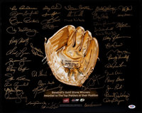 Gold Glove Winners Multi-Signed Photograph (45 Signatures)