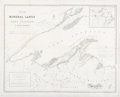 Books:Maps & Atlases, Andrew Gray. Map of That Part of the Mineral Lands Adjacent toLake Superior. Washington, D. C.: 1845. Original ...
