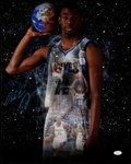 Autographs:Photos, Andrew Wiggins Timberwolves Signed Oversized Photograph....