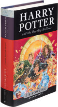 Books:Science Fiction & Fantasy, J. K. Rowling. Harry Potter and the Deathly Hallows. [London]: Bloomsbury, [2007]. First edition, inscribed by the...