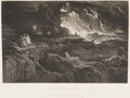 Books:Religion & Theology, John Martin. Illustrations of the Bible. London: Charles Tilt, [1838]. First collected and bound edition....