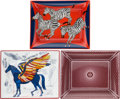 "Luxury Accessories:Home, Hermes Set of Three: Change Trays. Condition: 1. 8"" Width x 7.5"" Height x 1"" Depth. ... (Total: 3 )"