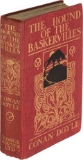 Books:Mystery & Detective Fiction, A[rthur]. Conan Doyle. The Hound of the Baskervilles. Another Adventure of Sherlock Holmes. London: George Newne...