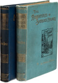 Books:Mystery & Detective Fiction, A[rthur]. Conan Doyle. The Adventures of Sherlock Holmes.London: George Newnes, 1892. First edition, first state wi...(Total: 2 Items)