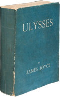 Books:Literature 1900-up, James Joyce. Ulysses. London: The Egoist Press, 1922. First English edition, printed in France; limited to 2000 copi...