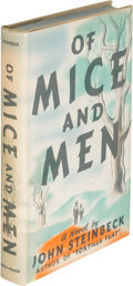 Books:Literature 1900-up, John Steinbeck. Of Mice and Men. New York: Covici-Friede,[1937]. First edition, first state with point between the ...