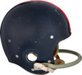 Football Collectibles:Helmets, Mid 1950's New York Giants Game Worn Helmet Attributed to Charlie Conerly. ...