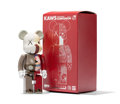 Fine Art - Sculpture, American:Contemporary (1950 to present), KAWS X BE@RBRICK. Dissected Companion 200%, 2009. Paintedmetal. 5-3/4 x 2-1/2 x 2 inches (14.6 x 6.4 x 5.1 cm) (toy). 6...