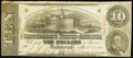 Confederate Notes, T59 $10 1863 PF-26 Cr. 443.. ...