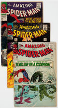 Silver Age (1956-1969):Superhero, The Amazing Spider-Man Group of 9 (Marvel, 1965-77) Condition:FR/GD.... (Total: 9 Comic Books)