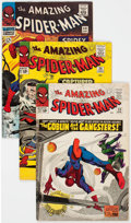 Silver Age (1956-1969):Superhero, The Amazing Spider-Man Group of 8 (Marvel, 1965-69) Condit...