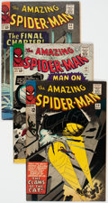 Silver Age (1956-1969):Superhero, The Amazing Spider-Man Group of 15 (Marvel, 1965-69) Condition:Average VG/FN.... (Total: 15 Comic Books)