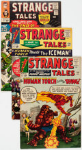 Silver Age (1956-1969):Superhero, Strange Tales Group of 21 (Marvel, 1964-75) Condition: AverageFN/VF.... (Total: 21 Comic Books)