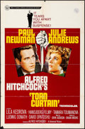 """Movie Posters:Hitchcock, Torn Curtain (Universal, 1966). One Sheet (27"""" X 41""""). Hitchcock....."""