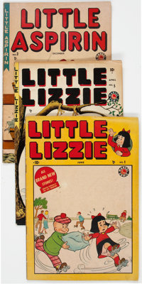 Little Lizzie/Little Aspirin Group of 3 (Marvel, 1949-50).... (Total: 3 Comic Books)