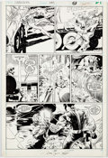 Original Comic Art:Panel Pages, Rick Leonardi and Al Williamson Daredevil #249 Story Page 20Original Art (Marvel, 1987)....