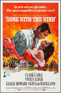 "Movie Posters:Academy Award Winners, Gone with the Wind (MGM, R-1968). One Sheet (27"" X 41"") Howard Terpning Artwork. Academy Award Winners.. ..."